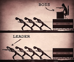 Leadership is leading by example!